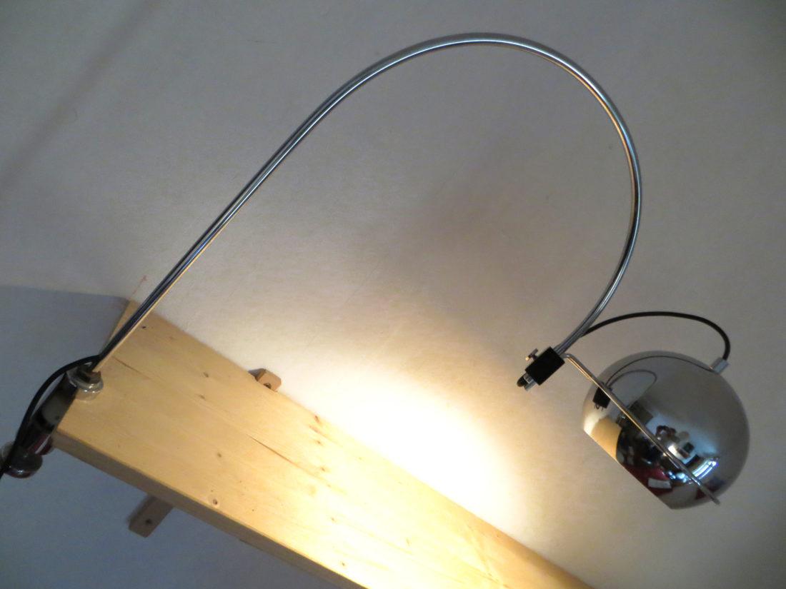 lampe d 39 architecte goffredo reggiani 1960 magic sixties. Black Bedroom Furniture Sets. Home Design Ideas
