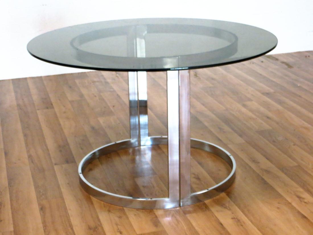 table ronde roche bobois 1973