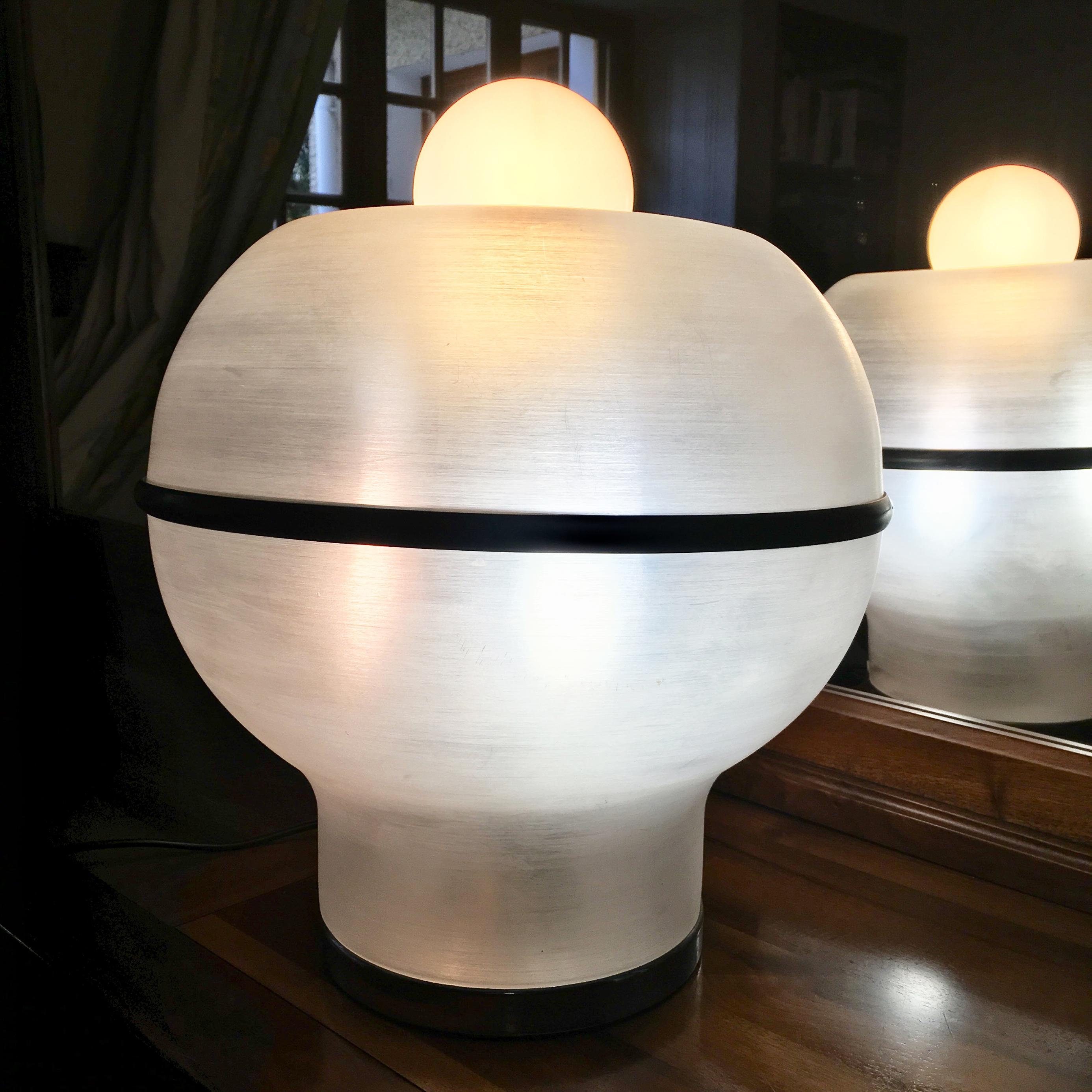 Age Guzzini 70 Harvey Années Lampe Sixties Space Magic N0nvmw8